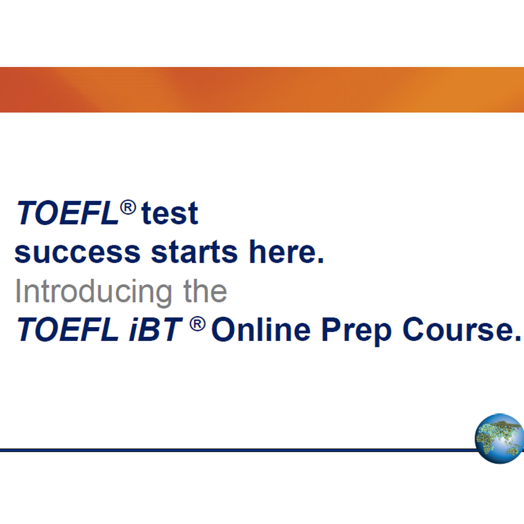 TOEFL iBT Online Prep Course Instructor